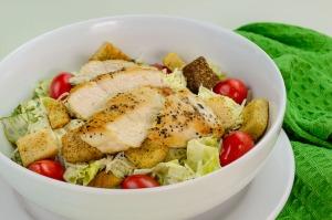 Chicken Ceasar Salad 1.