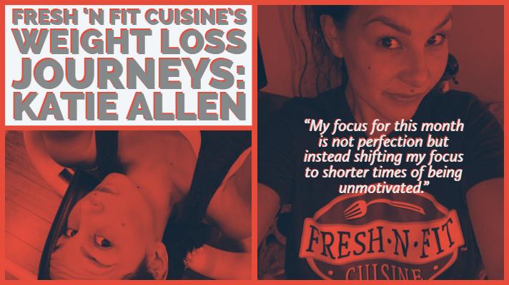 Fresh N Fit Cuisine's Weight Loss Journeys: Katie Allen